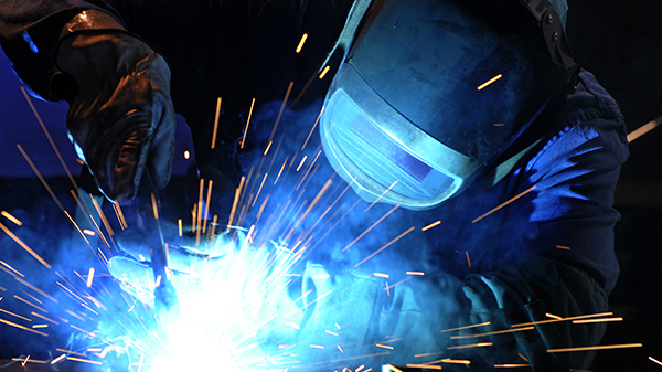 Welding at LCC