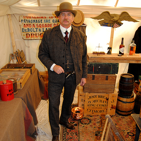 Frontier History Encampment returns to LCC