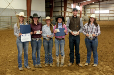 Equine students competing for scholarships