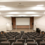 Large lecture hall from above