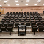 Large lecture hall seating