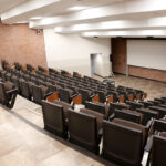Large lecture hall from the entrance