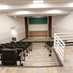 Small lecture hall from above