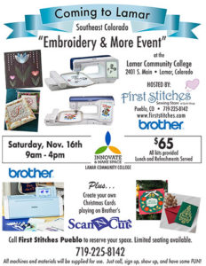 Embroidery Flyer